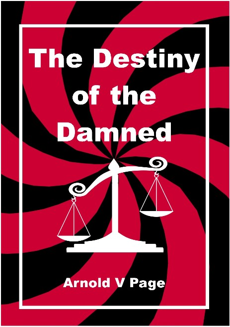 "Cover of ""The Destiny of the Damned"""